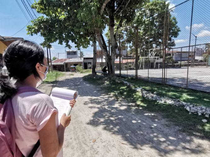 encuestas en el distrito de iquitos