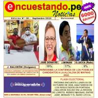 SEGUNDA EDICION DEL PERIODICO ENCUESTANDO.PE NOTICIAS
