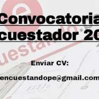OPORTUNIDAD LABORAL 2021 ENCUESTADOR